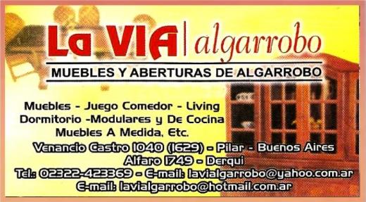 Muebles de Algarrobo  General Rodriguez